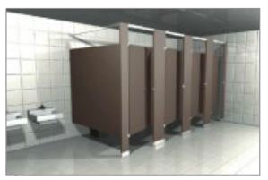 Captivating Bathroom Partitions Massachusetts Decorating Design - Solid plastic bathroom partitions